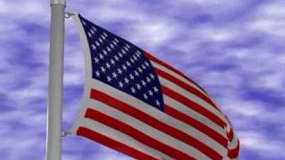 American Flag Animation