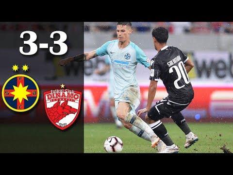 Rezumat: FCSB - Dinamo 3-3 (1-1) #fcsb #steaua #dinamo