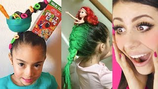 Download Craziest KIDS HAIRCUTS for School ! Mp3 and Videos