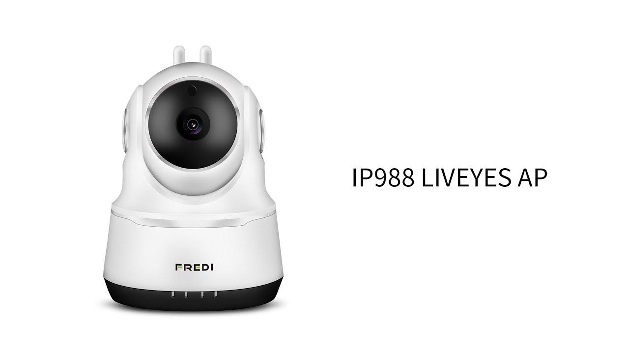 FREDI IP988 liveyes sound connection