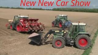 Dreschen mit dem Lanz Bulldog - Tractor start, run and threshing full game show