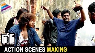 Rogue Movie Action Scenes Making | Ishan | Mannara Chopra | Puri Jagannadh | Telugu Filmnagar