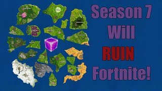 Saison 7 Will RUIN Fortnite!?! Saison 7 FuiteLore - Carte