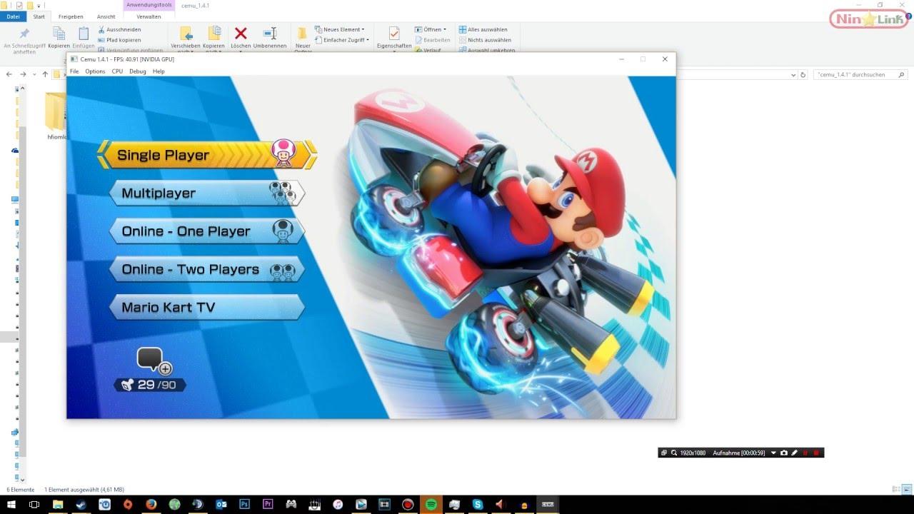 CEMU Wii U Emulator - Set Up [Tuorial]