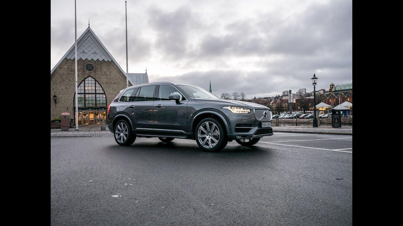 2018 Volvo Xc90 >> Vi tog en tur på stan med Volvo XC90 - YouTube
