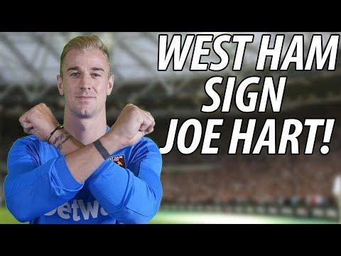 Joe Hart Joins West Ham! | WHFTV TRANSFER SPECIAL