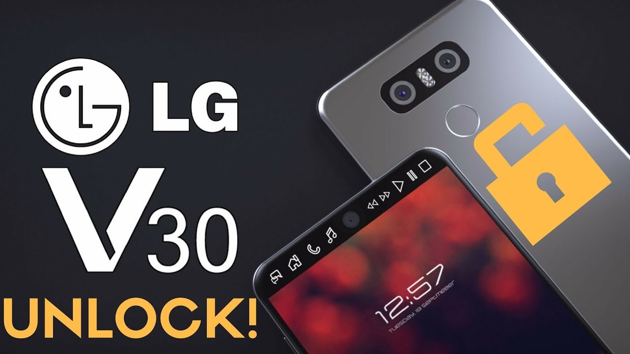 How To Unlock The LG V30 (Plus)