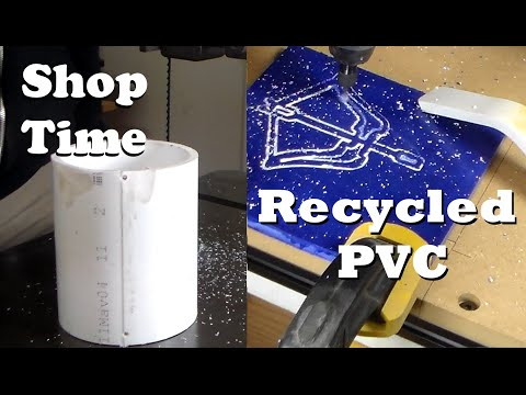 Recycle Old PVC Into Flat Sheets