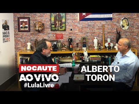 #LULALIVRE: FERNANDO MORAIS ENTREVISTA ALBERTO TORON