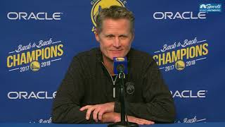 Steve Kerr Full Press Conference After Draymond Green Suspension