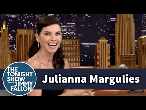 Julianna Margulies Wets Her Hair with a FoulNamed Grease