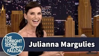 Julianna Margulies Wets Her Hair with a Foul-Named Grease