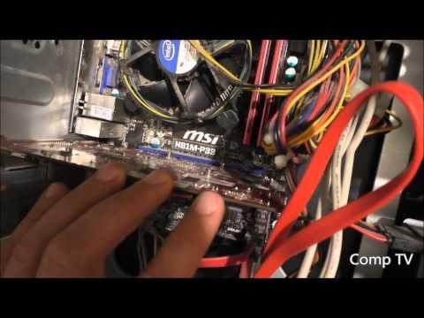 Как установить видеокарту в системный блок