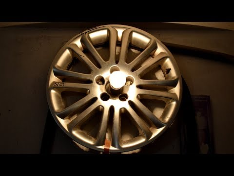Garage Lamp from rims wheels DIY