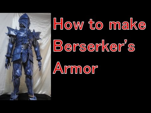 How to make Berserker(Lancelot)'s armor - Fate/Zero, Fate/Grand Order [Cosplay prop tutorial]