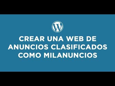 Plantilla WordPress para una web de anuncios clasificados - YouTube