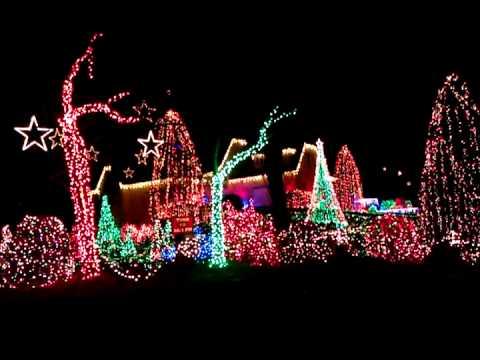 Bill Vaughn light display Alexandria VA - Bill Vaughn Light Display Alexandria VA - YouTube