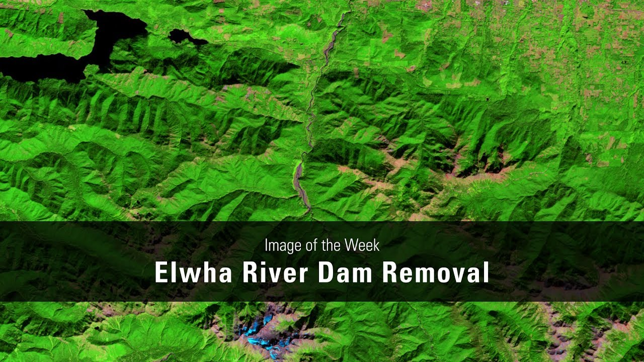 Elwha River Dam Removal, Washington