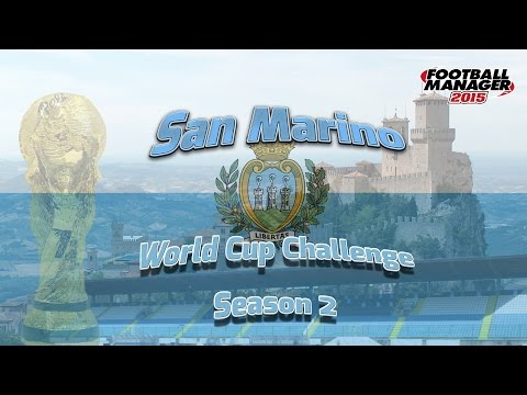 Lets take San Marino to the World Cup Finals in Football Manager 2015