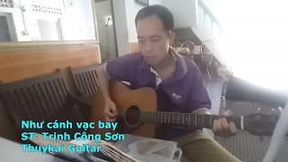 Như cánh vạc bay cover - Thuykai guitar