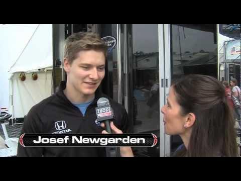 Barber Motorsports Park >> Josef Newgarden and Lauren Bohlander - YouTube