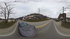 Dodge Challenger on the streets of Chapmanville WV 360 vr insta360 one