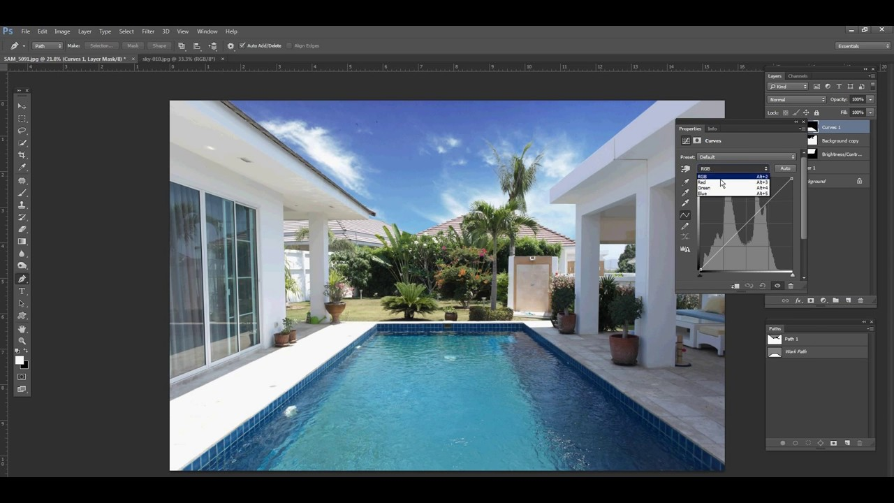 Photoshop tutorial changing sky in real estate photo using adobe photoshop tutorial changing sky in real estate photo using adobe photoshop baditri Images