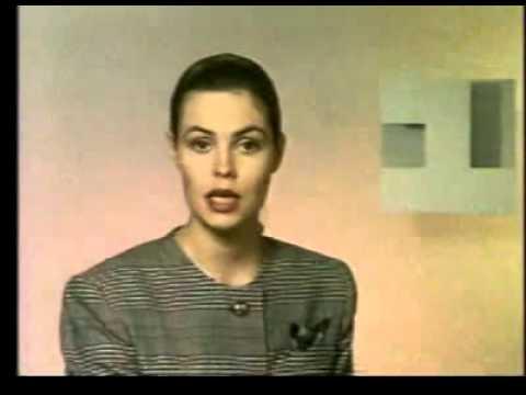 Диктор Екатерина Андреева 1 канал Останкино 1993 - YouTube