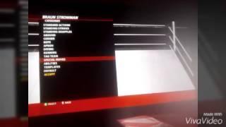 WWE 2k16: moveset Braun strowman