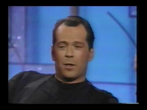 Download Bruce Willis on not liking Cybill Shepherd! - 1990 Interview