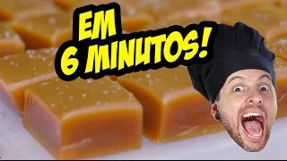 CARAMELO VEGANO EM 6 MINUTOS (BALA BUTTER TOFFEES)