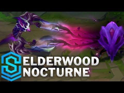 Elderwood Nocturne Skin Spotlight - Pre-Release - League of Legends