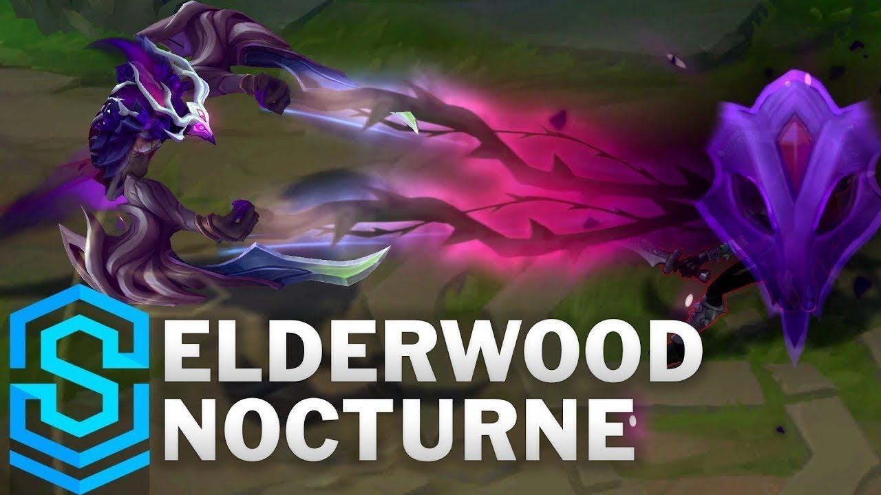 Elderwood Nocturne Skin Spotlight - Pre-Release - League of Legends - YouTube