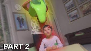 Dia Nangis! Prank Siram Slime 1 Ember Ke Adikku **marah**
