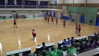 5日 ハンドボール女子 福島商業高校 小松市立×清峰 1回戦 1
