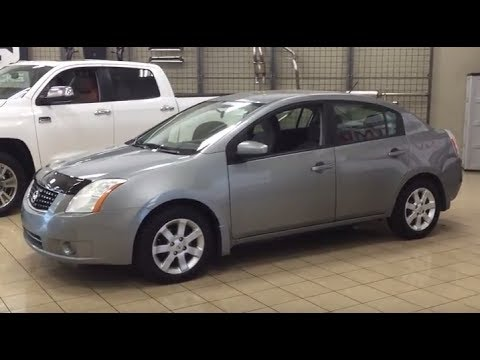 2009 nissan sentra review - youtube