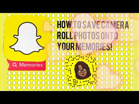 How to save photos to memories on snapchat