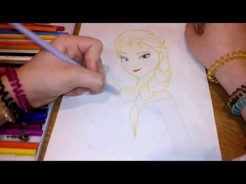 Как нарисовать Эльзу в виде пони