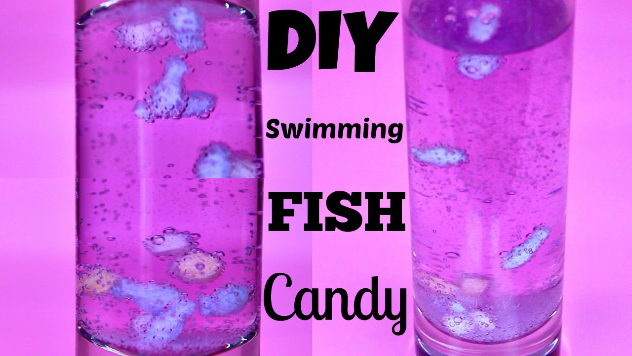 ... PukaPon Candy Floating FISH Grape Soda Japanese DIY Kit - YouTube
