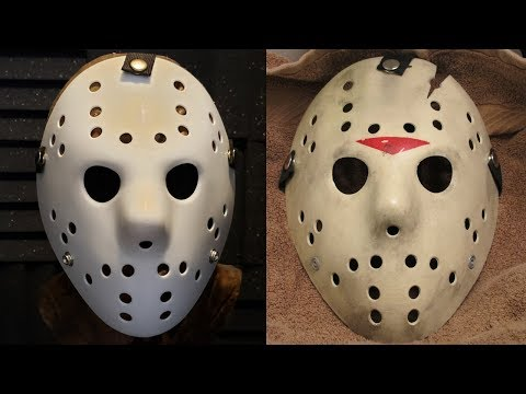 Make a Friday the 13th Part 6 Jason Mask - DIY Painting Tutorial