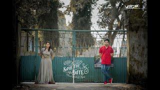 Save The Date Ankitha x Rakesh
