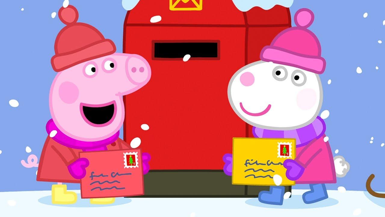 Peppas Wunschzettel an den Weihnachtsmann 🎅 Cartoons für Kinder   Peppa Wutz Neue Folgen