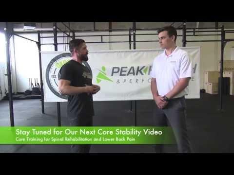 Calgary Movement Series |  Core Stability 1 |  Calgary Chiropractor & Calgary Crossfit Gym