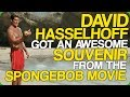 watch he video of David Hasselhoff Got An Awesome Souvenir From The Spongebob Movie (My Birthday!)