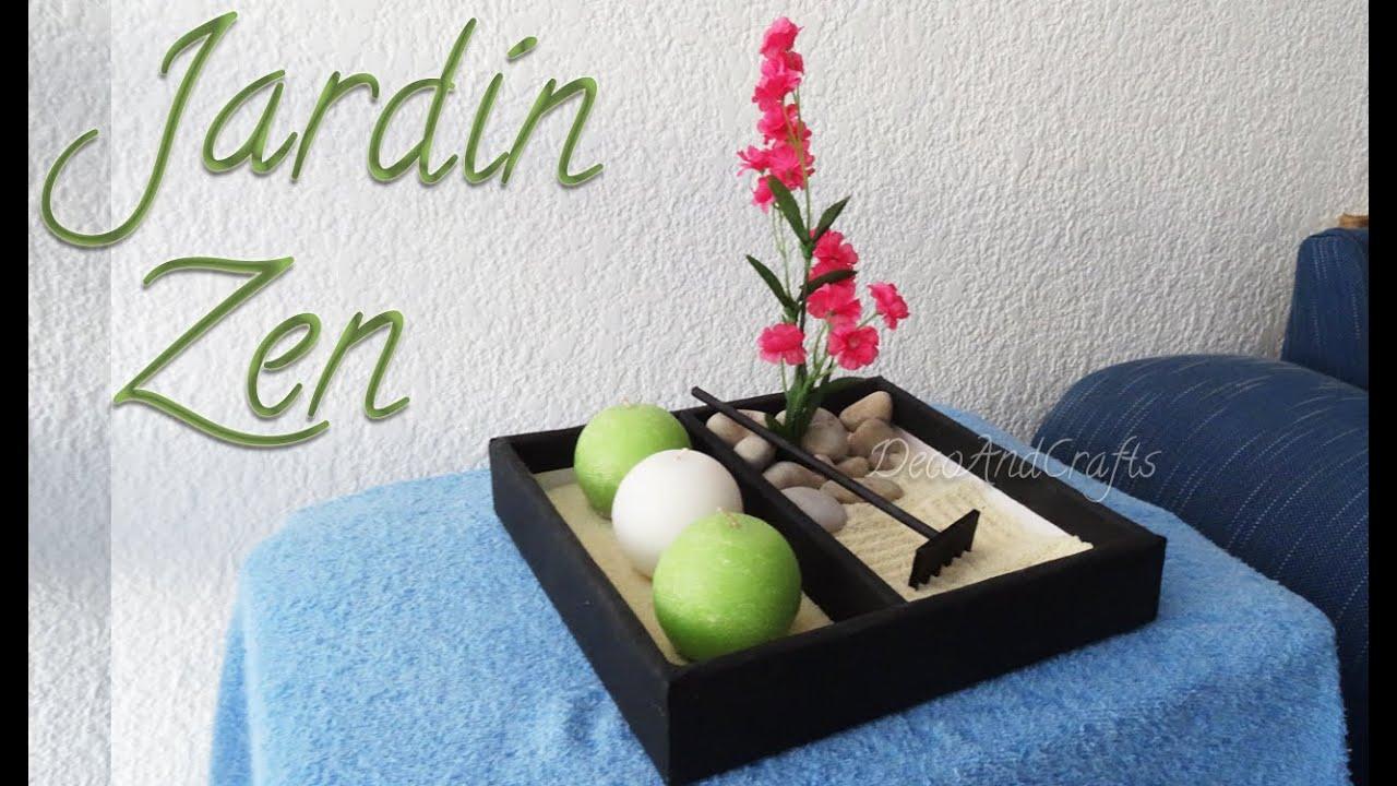 Como hacer un jard n zen decora tu espacio decoandcrafts - Espacio zen ...