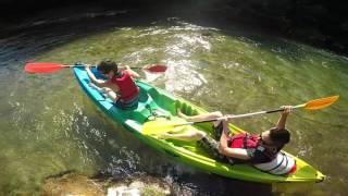 L'alternative canoe kayak, gorges du Tarn, Aveyron, lozère, Le Rozier