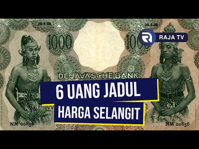 6 Uang Jaman Dulu yang Dijual dengan Harga Selangit