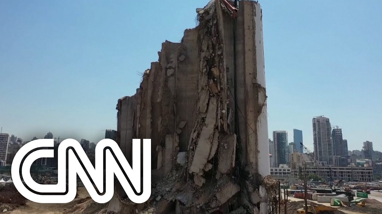 Veja imagens dos danos em Beirute um ano após explosão em porto #Shorts
