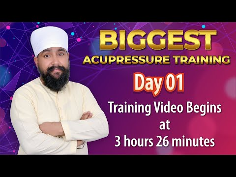 Video - 🔴 *Free* *Free* *Free*🔴         *Biggest Acupressure Event*                  🎯Step-1          Get registered for this Mega Event which is taking place on Oct 31st and Nov 1st.         To Book Your free seat - Fill this Form          freetraining.jagmohansachdeva.com                  🎯Step 2         *Subscribe Our Youtube Channel For Live Acupressure Webinar*          *https://www.youtube.com/c/jagmohansachdevaji*                  🎯*If you have Completed above 2 steps* then save this link for the *Biggest Acupressure Online Training Ever* https://youtu.be/bt55Gl0sD8I                  🎗️You will be able to attend Live Training at above given link.                  📌Note- E Certificate will be provided to only those who have filled this Form properly ,         freetraining.jagmohansachdeva.com                  ✈️*Share it to all your friends and relatives so that maximum people can take benefit of this Free event*                  📞For any queries feel free to call us at *9990032555*
