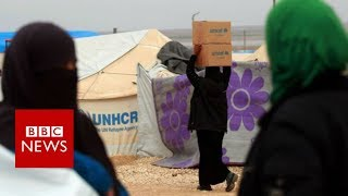 Syrian women 'sexually exploited' by aid workers - BBC News thumbnail